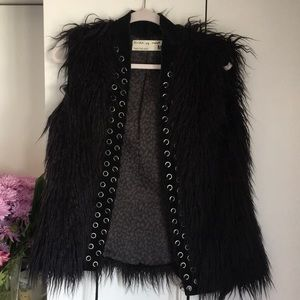 Circle of Trust, Fake Fur Vest